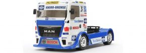 TAMIYA 58632 MAN TGS Racing Truck Team Hahn TT-01E | RC Auto Bausatz 1:14 kaufen