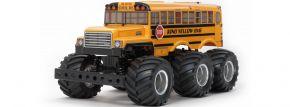 ausverkauft   TAMIYA 58653 King Yellow 6x6 Bus G6-01   RC Auto Bausatz 1:18