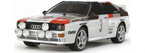 TAMIYA 58667 Audi Quattro Rally A2 TT-02 | RC Auto Bausatz 1:10 kaufen