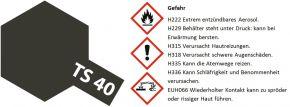 TAMIYA TS-40 Sprayfarbe Metallic-Schwarz #85040 kaufen