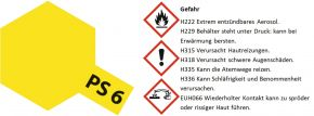 TAMIYA PS-6 gelb Lexanfarbe Spray # 86006 kaufen