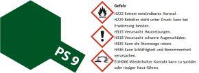 TAMIYA PS-9 grün Lexanfarbe Spray # 86009 kaufen