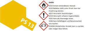 TAMIYA PS-13 gold Lexanfarbe Spray # 86013 kaufen