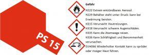 TAMIYA PS-15 metallic-Rot Lexanfarbe Spray # 86015 kaufen