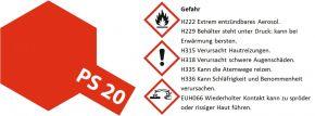 TAMIYA PS-20 leucht-rot Lexanfarbe Spray # 86020 kaufen