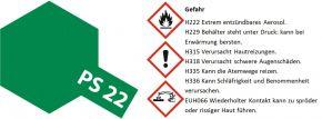 TAMIYA PS-22 racing-grün Lexanfarbe Spray # 86022 kaufen
