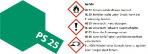 TAMIYA PS-25 hellgrün Lexanfarbe Spray No. 86025 kaufen