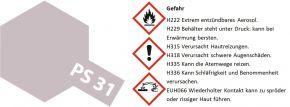 TAMIYA PS-31 Rauch transparent Lexanfarbe Spray # 86031 kaufen