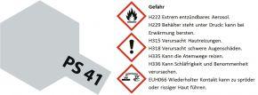 TAMIYA PS-41 bright silber Lexanfarbe Spray # 86041 kaufen