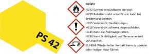 TAMIYA PS-42 translucent gelb Lexanfarbe Spray # 86042 kaufen