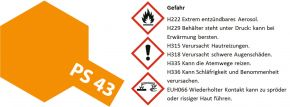 TAMIYA PS-43 translucent orange Lexanfarbe Spray # 86043 kaufen