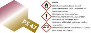 TAMIYA PS-47 wechseleffekt pink/gold Lexanfarbe Spray # 86047 kaufen