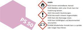 TAMIYA PS-50 Aluminium-Effekt rot Lexanfarbe Spray # 86050 kaufen