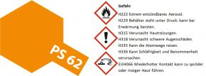 TAMIYA 86062 PS-62 orange (ENEOS) Lexan-Spray | 100ml kaufen