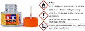 TAMIYA 87012 Cement/ Plastikkleber mit Pinsel | 20 ml kaufen