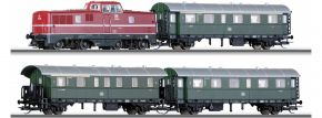 ausverkauft | TILLIG 01426 Startset V 80 Personenzug | DC analog | Spur TT kaufen