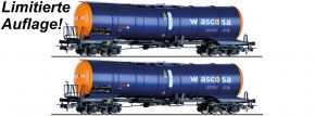 TILLIG 502141 2-tlg. Sonderset Kesselwagen Zacns Wascosa | DC | Spur H0 kaufen