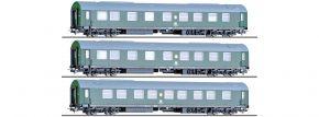 TILLIG 70033 3-tlg. Reisezugwagenset DR   DC   Spur H0 kaufen