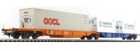 TILLIG 76637 Doppeltragwagen Sdggmrs744   DB AG   Spur H0 kaufen
