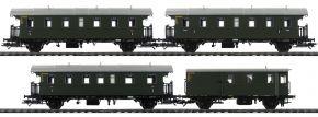 TRIX 23456 Personenwagen-Set mit Steuerwagen DB | mfx/DCC | Spur H0 kaufen