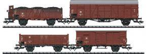 TRIX 24128 Güterwagen-Set 4-tlg. DR | DC | Spur H0 kaufen