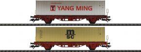 TRIX 24139 Containerwagen-Set DB AG   DC   Spur H0 kaufen