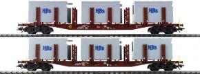 TRIX 24141 Rungenwagen-Set Badsysteme DB AG | Spur H0 kaufen