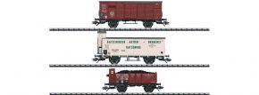 TRIX 24148 Güterwagen-Set zur T 3 KPEV   Spur H0 kaufen