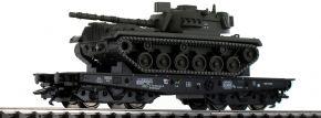 TRIX 24214 Schwerlastwagen Rlmmps mit M48 DB | Spur H0 kaufen