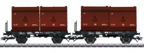 TRIX 24175 Kokskübeltragwagen-Set 2 Kübel DB | Spur H0 kaufen