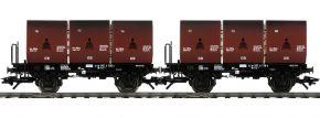 TRIX 24177 Kokskübeltragwagen-Set 3 Kübel DB | Spur H0 kaufen
