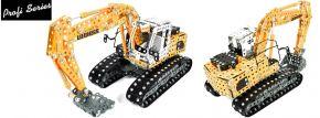 tronico 10100 Metallbaukasten LIEBHERR Raupenbagger | 1283 Teile | Profi Serie | 1:25 kaufen