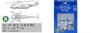 TRUMPETER 756214 Sikorsky SH-3 Sea King Helicopter 6 Stück für Flugzeugträger Bausatz 1:350 kaufen