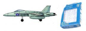 TRUMPETER 756233 McDonnell Douglas F/A-18C Hornet 6 Stück für Flugzeugträger Bausatz 1:350 kaufen