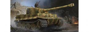 TRUMPETER 09540 Pz.Kpfw.VI Ausf.E Tiger I Zimmerit | Panzer Bausatz 1:35 kaufen