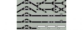 Uhlenbrock 69091 Track-Control Symbolfolie | Weichen- und Kreuzungssymbole kaufen