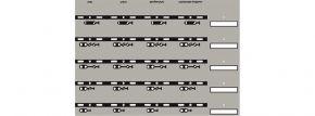 Uhlenbrock 69096 Track-Control Symbolfolien | Signalsymbole Linksverkehr kaufen