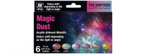 VALLEJO 777090 Airbrush-Farbset Magic Dust | 6  x 17ml kaufen
