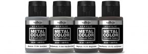 VALLEJO 777602 Airbrush-Farbset Metall, Abgasrohr Strahlantrieb | 4 x 32ml kaufen