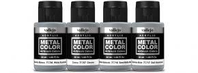 VALLEJO 777603 Airbrush-Farbset Metall, Holzanstrich | 4 x 32ml kaufen