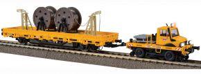 Viessmann 2680 Zweiwege-Unimog mit Fahrleitungsbauwagen 2L Fertigmodell   Spur H0 kaufen