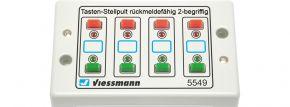 Viessmann 5549 Universal-Tasten-Stellpult rückmeldefähig Spur HO kaufen