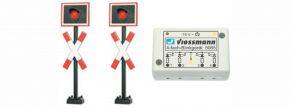 Viessmann 5801 Andreaskreuze mit Blinkelektronik   Signale Spur N kaufen