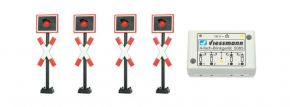 Viessmann 5835 Andreaskreuze mit Blinkelektronik | Spur H0 kaufen