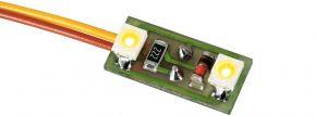 Viessmann 6017 Hausbeleuchtung mit 2 LEDs gelb | Beleuchtung Spur H0 kaufen