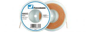 Viessmann 68653 Kabel 25 m 0,14 mm² braun kaufen