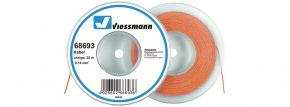 Viessmann 68693 Kabel 0,14 mm² | orange | 25 Meter kaufen