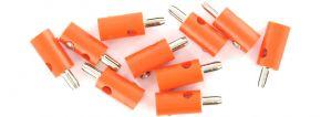 Viessmann 6875 Querlochstecker | 2,5 mm - alte Generation | Orange | 10 Stück kaufen