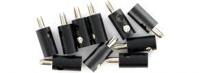 Viessmann 6877 Querlochstecker | 2,5 mm - alte Generation | Schwarz | 10 Stück kaufen