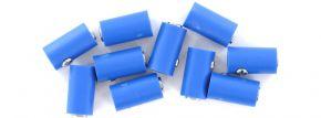 Viessmann 6883 Runde Muffen | 2,5 mm - alte Generation | Blau | 10 Stück kaufen